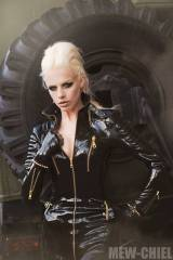 Lara Aimee in Lacing Lilith Latex