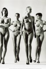 Four Nude Models (by Helmuth Newton)