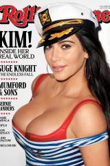 Kim K bursting out on new cover for Rolling Stone