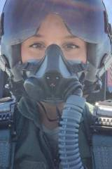 Sexy female pilot (crosspost r/pics)