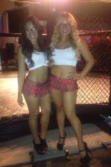 New outfits for our ringside girls! What do you th...