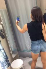 I think she should buy those shorts. Theyre a goo...