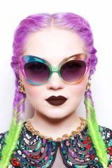 Braided Hair: Awesome transition between colors