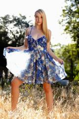 Samantha Rone in her summer dress (X-post /r/Model...