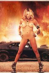 Kaley Cuoco in Mad Max