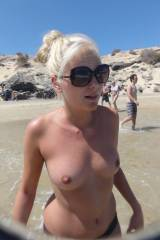 Topless bathing