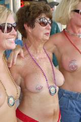 Mom, daughter & grandmother go topless at Fantasy ...