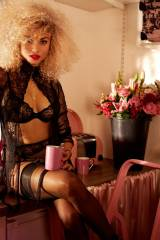Rose Bertram Looking Sexy Wearing Lingerie For Age...