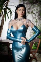 Lilly Roma, latex princess (xpost from /r/lillyrom...
