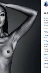 Instagram just took it down, but Naomi Campbell po...