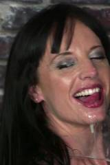 Angel Blue likes drinking on loads of Cum