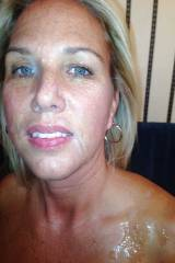 Mom with cum on her face (more in comments)