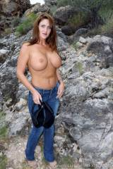 Taylor Ann out for a hike