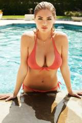 Kate Upton coming out of a pool