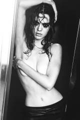 Kendall Jenner covered topless