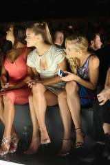 Nina Agdal, New York Fashion Week