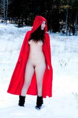 Little red riding (clitoral) hood
