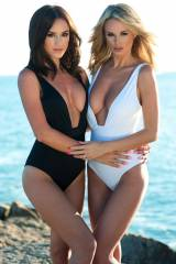 Rosie and Rhian do Black and White