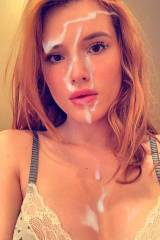 [OC] Bella Thorne shared a selfie on snapchat