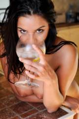 Lacey Banghard having a drink (X-post /r/Lacey_Ban...