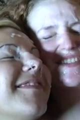 Two lovely ladies happy to share a load