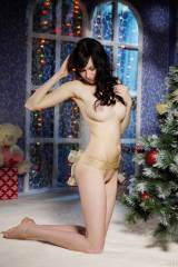 Stunning naked Christmas hotty (pics in comments)