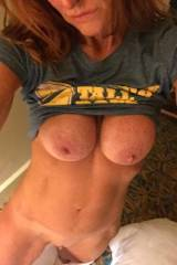 Very fit ginger milf