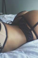 Ass with lingerie, autopic