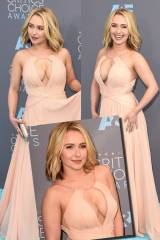 Hayden Panettiere now has enormous goddamn tits.