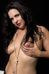 Hi Res Asheville burlesque dancer Quiet Hurricane ...