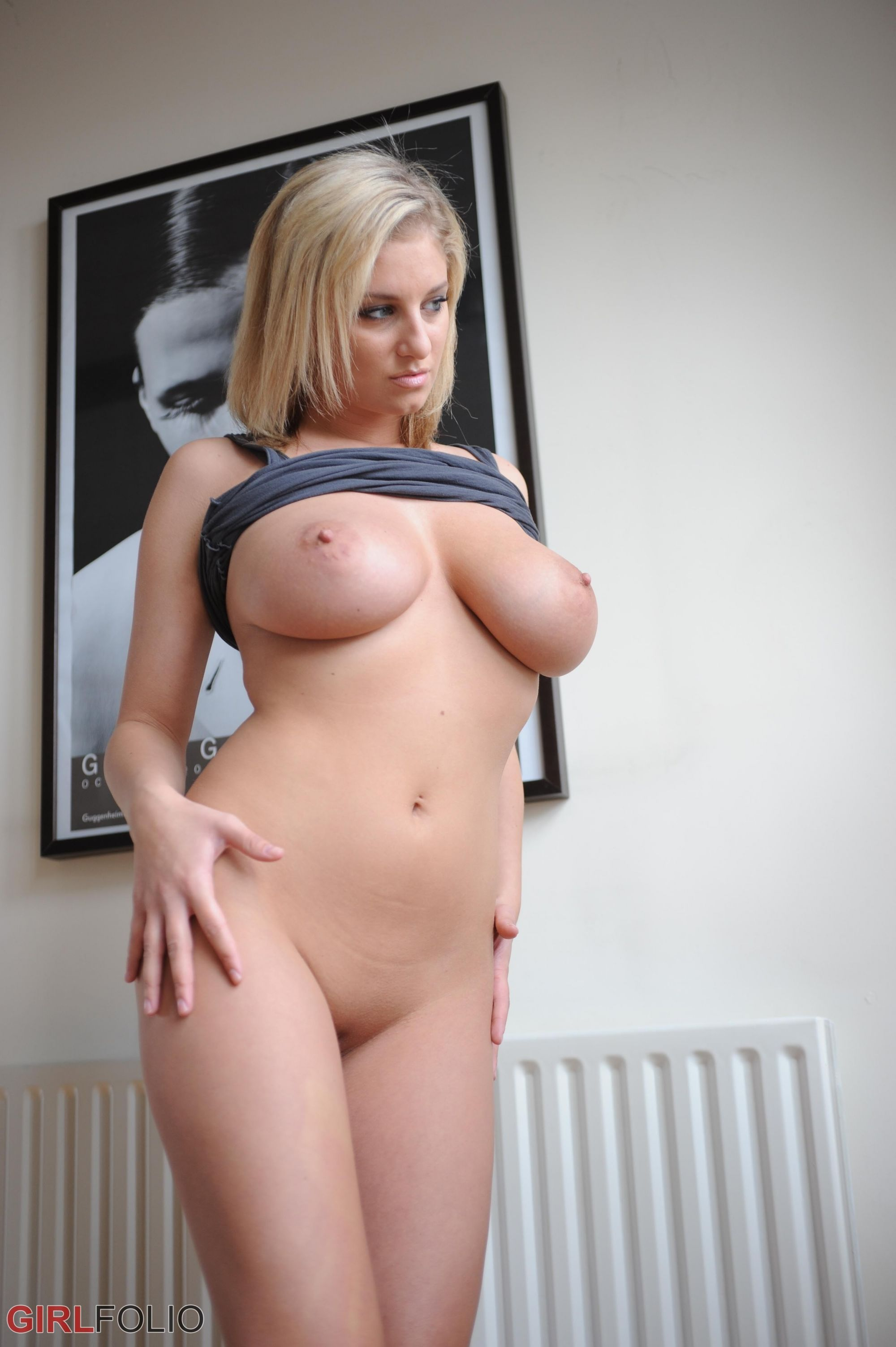 Blonde Big Tits Double Anal