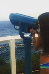 Its funny because I have a telescope pointed at h...