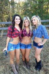 Three Country Girls