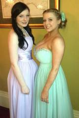 Just before prom