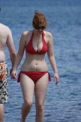if youre a ginger, please dont wear a red bikini...