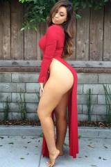 Thick Ass in red