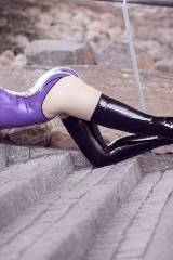 Psylocke in boots by Fabulously Fetish