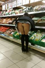 Having a bit of fun while doing some groceries sho...
