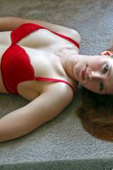 Red Head, Red Bra
