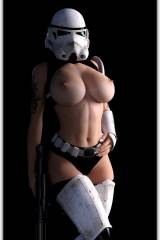 Force is strong with these tits