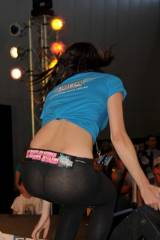 See through yoga pants from a car show (X-post fro...