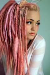Cotton Candy Dreads [x-post /r/sexyhair]