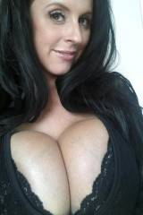 Milf with a hint of cleavage to show