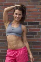 Cute and Fit Brunette