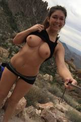 Out on a hike