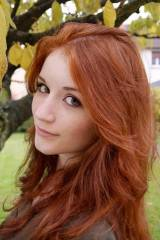 Absolutely gorgeous natural redhead