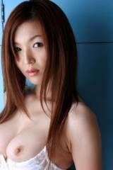 Lovely japanese woman with juicy tits falling out ...