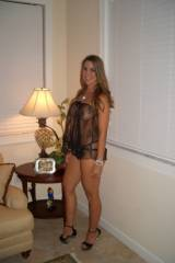 hot milf at home on Lingerie
