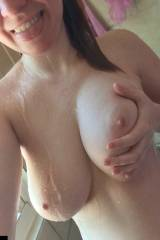 Wet Tits in the Shower