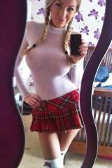 fridays school girl outfit